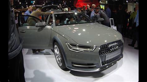 audi a6 c7 facelift audi a6 allroad avant quattro model 2017 c7 facelift walkaround interior