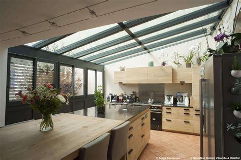 veranda cuisine amenagement veranda terrasse fashion designs