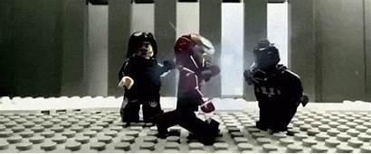 Captain America War Civil Legos Trailer Recreated