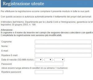 Www Interno It Sezione Cittadinanza Registrazione Utente Cittadinanza Italiana