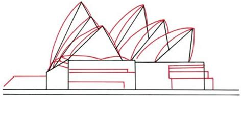 arches   draw  sydney opera house howstuffworks
