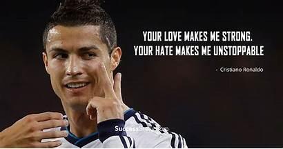 Ronaldo Cristiano Quotes Sayings Birthday Motivational Makes