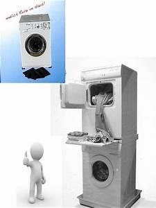 Trockner Und Waschmaschine übereinander : zwischenbaurahmen f r waschmaschine auf trockner z b aeg ~ Michelbontemps.com Haus und Dekorationen