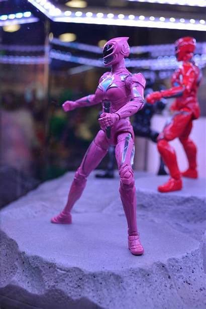Rangers Power Figures Action Legacy Pink Previewsworld