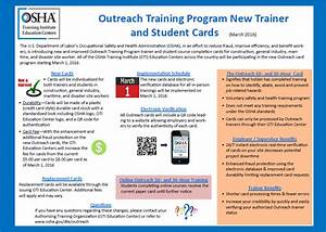 Outreach Trainer Portal Instructions | OSHA | Eastern ...