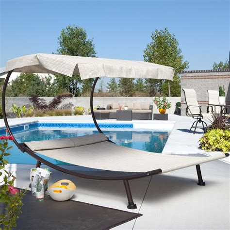 coral coast chaise lounge with canopy