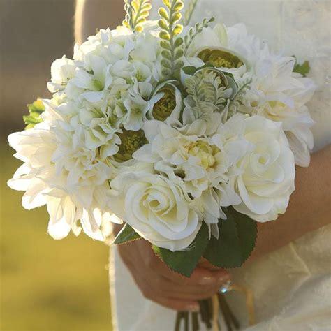 cheap   artificial bridal bouquets   door