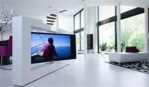 Fernseher Als Raumteiler : 7 ideen wie sie ihren fernseher unterbringen ~ Sanjose-hotels-ca.com Haus und Dekorationen