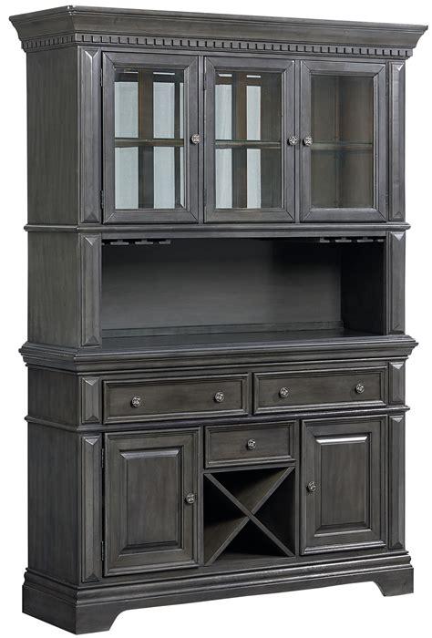 grey china cabinet standard furniture garrison 14908 2014908 traditionally