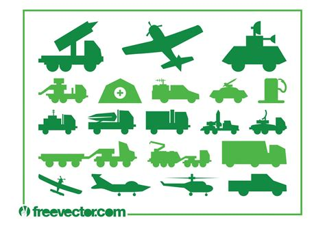 Almost files can be used for commercial. Military Vehicles Graphics - Download Free Vector Art ...