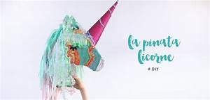 Comment Fabriquer Une Pinata : la pinata licorne diy minireyveminireyve ~ Dode.kayakingforconservation.com Idées de Décoration