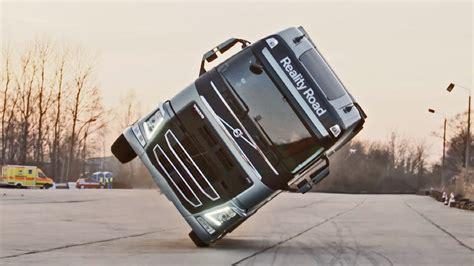 volvo truck images volvo truck stunt youtube