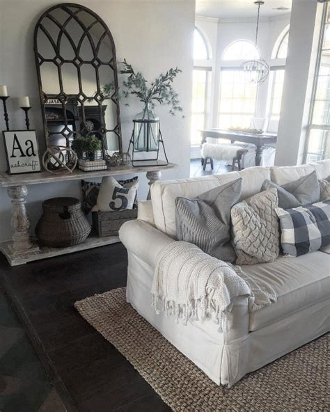 farmhouse living room ideas 45 comfy farmhouse living room designs to digsdigs Farmhouse Living Room Ideas