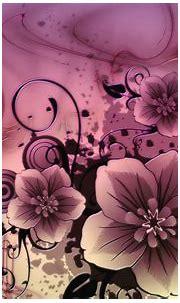 Abstract Pink Flowers Free Desktop Wallpaper, Hd ...