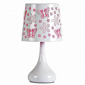 Lampe touch 40W papillons