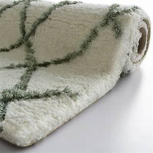 tapis salle de bain grande taille lavable en machine With tapis de bain epais