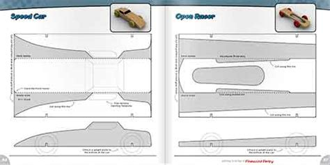 free pinewood derby car templates getting started in the pinewood derby book
