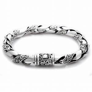 Bracelet En Argent Homme : bracelet homme argent torsade motif celtique bijouxstore webid 390 ~ Carolinahurricanesstore.com Idées de Décoration