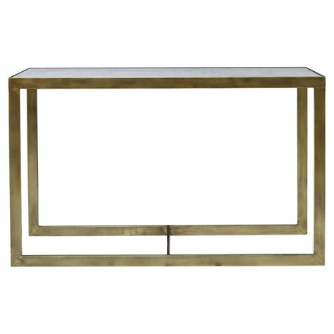 Marble Console Table by Mr Brown Horne Global Flat Gold Marble Console Table