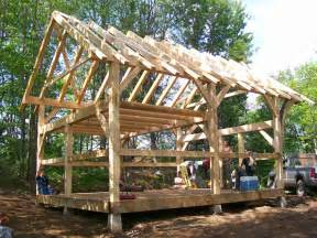 Shed Plans 12x12 With Loft by Tiny Post And Beam House Small Post And Beam Cabins