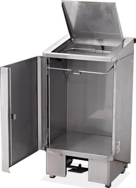 poubelle cuisine professionnelle poubelle 60 litres electro broche ggz0001 ggz0001