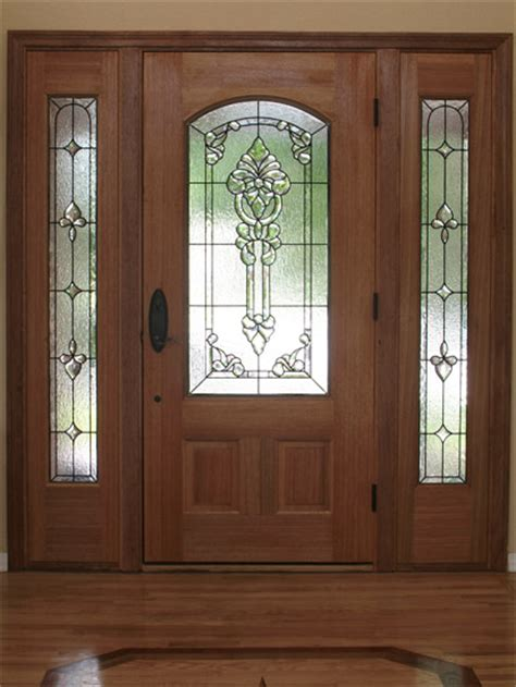 Custom Stained Glass for Your Doors