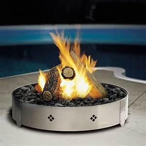 Kingsman, Outdoor, Round, Gas, Firepit, Fp2085