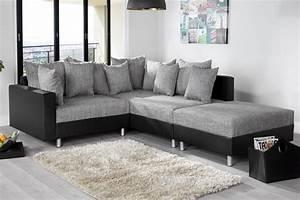 canape d39angle modulable loft noir gris With tapis bébé avec canapé d angle industriel