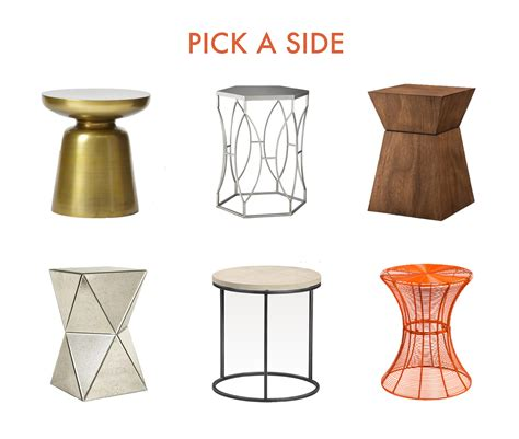 A SIDE TABLE FOR EVERY OCCASION   scout and arrow