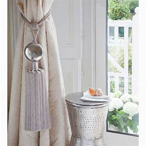 Google image result for http wwwindiangardencompanycom for Curtain tie backs placement