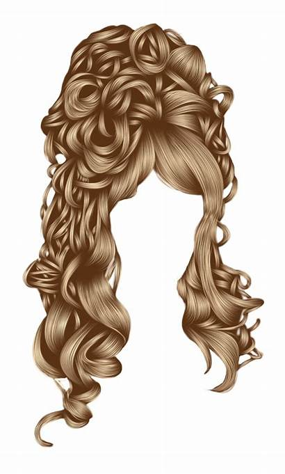 Clipart Curly Haircut Hairstyle Transparent Three Clip