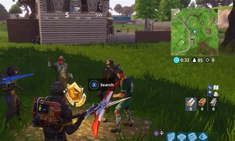 Fortnite Hungry Gnomes And Search Between A Bear, Crater