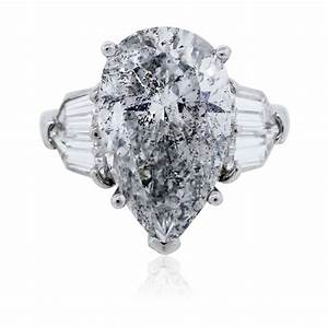 pear shaped diamond platinum engagement ring egl certified With pear shaped diamond wedding rings