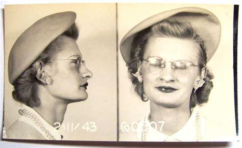 great pictures vintage mugshots of bad girls