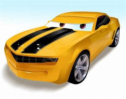 Cars Pixar Bumblebee Transformers Famous Bee Bumble