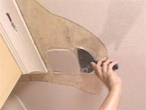 how to repair a ceiling how tos diy With popcorn ceiling peeling in bathroom