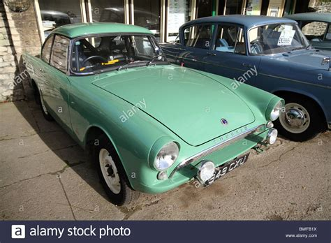 Sunbeam Alpine Old Sports Car Used For Racing Then Offered