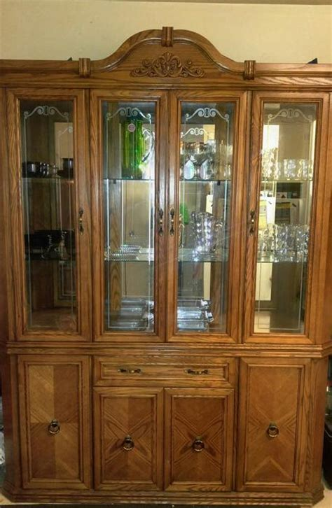 used china cabinet for sale used china cabinets for sale 695 used traditional cherry