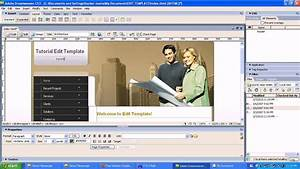 edit web template with adobe dreamweaver cs3 youtube With dreamweaver app templates