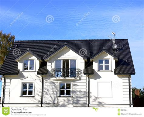maison blanche images stock image 6918324