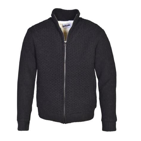 zip front sweater schott 39 s zip front sweater jacket us wings
