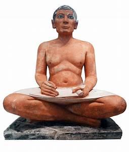 Seated Scribe | Seated Scribe , c. 2620-2500 B.C.E., c ...