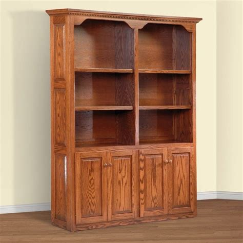 wood bookcase with doors bookcases ideas wood bookcases with doors design