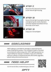 Honda Civic Hatchback Taillight Installation Guide