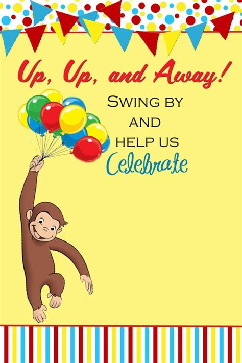curious george birthday party  kitchen docs