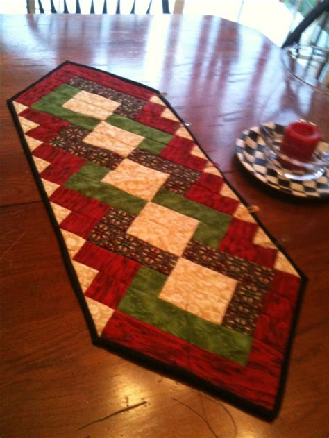 custom quilted christmas table runner holiday gift boxes