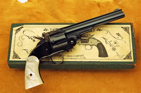 Navy Arms Model 1875 Schofield Caliber 45 Long Colt Revolver S&w Reproduction For Sale At