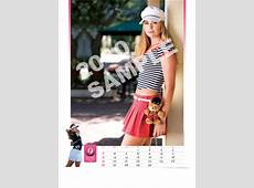 Golf Babes 2010 Paula Creamer Calendar