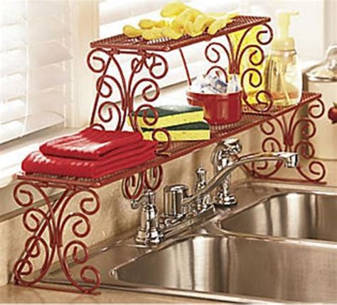 2 tier over the sink shelf 2 tier scrolled over the sink shelf new unassembled