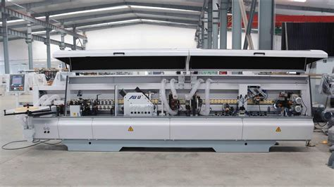 automatic edge bander machine mfbcyf nanxing youtube